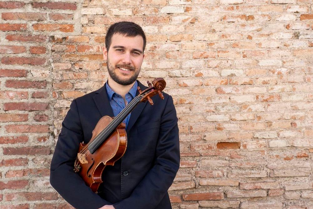 David - Violinista para bodas