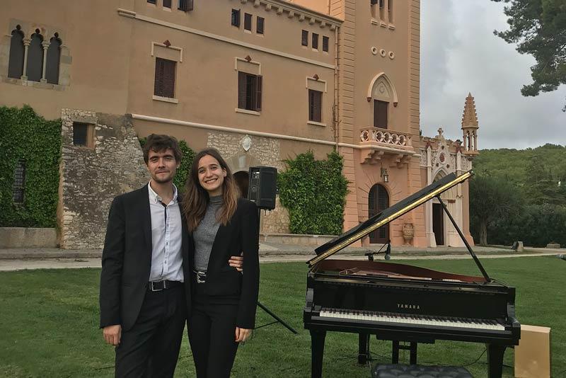 Boda de Juliette & Christopher - el Piano de tu Boda